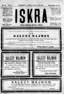 Iskra. Dziennik polityczny, społeczny i literacki, 1919, R. 10, nr 125