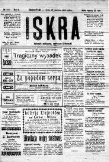 Iskra. Dziennik polityczny, społeczny i literacki, 1919, R. 10, nr 133