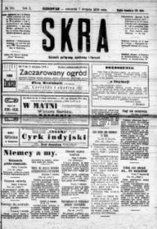Iskra. Dziennik polityczny, społeczny i literacki, 1919, R. 10, nr 165
