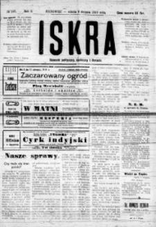 Iskra. Dziennik polityczny, społeczny i literacki, 1919, R. 10, nr 167