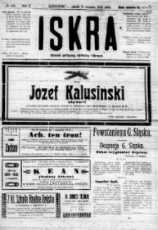Iskra. Dziennik polityczny, społeczny i literacki, 1919, R. 10, nr 186