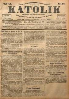Katolik, 1915, R. 48, nr 35