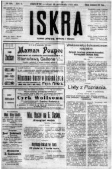 Iskra. Dziennik polityczny, społeczny i literacki, 1919, R. 10, nr 229