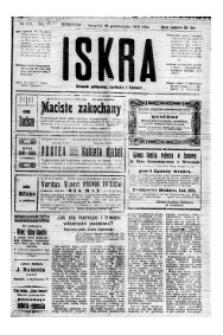 Iskra. Dziennik polityczny, społeczny i literacki, 1919, R. 10, nr 238