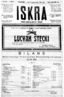 Iskra. Dziennik polityczny, społeczny i literacki, 1919, R. 10, nr 243