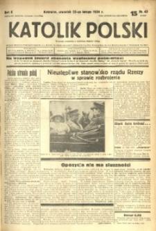 Katolik Polski, 1934, R. 10, nr 43