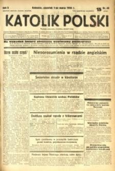Katolik Polski, 1934, R. 10, nr 49