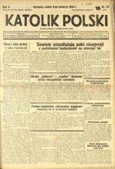 Katolik Polski, 1934, R. 10, nr 79