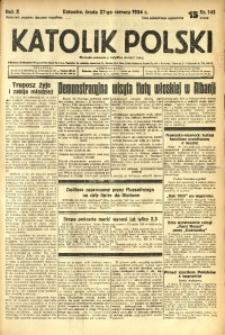 Katolik Polski, 1934, R. 10, nr 145
