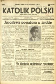 Katolik Polski, 1934, R. 10, nr 235