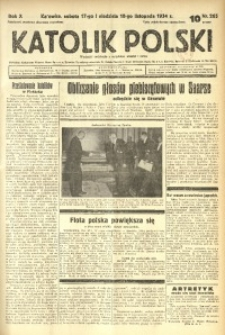 Katolik Polski, 1934, R. 10, nr 265