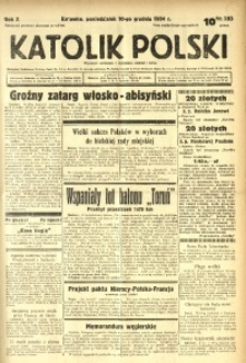 Katolik Polski, 1934, R. 10, nr 283