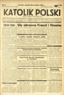 Katolik Polski, 1934, R. 10, nr 292