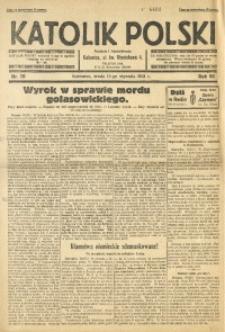 Katolik Polski, 1931, R. 7, nr 10