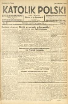 Katolik Polski, 1931, R. 7, nr 62