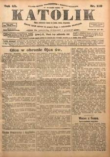Katolik, 1915, R. 48, nr 119