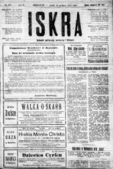 Iskra. Dziennik polityczny, społeczny i literacki, 1919, R. 10, nr 287