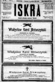 Iskra. Dziennik polityczny, społeczny i literacki, 1919, R. 10, nr 289