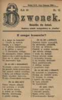 Dzwonek, 1903, R. 10, nr 12