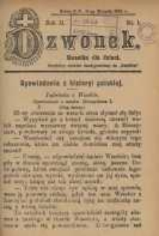 Dzwonek, 1904, R. 11, nr 1