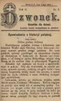 Dzwonek, 1904, R. 11, nr 3