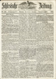 Schlesische Zeitung, 1855, Jg. 114, Nr. 419