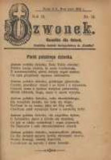 Dzwonek, 1905, R. 12, nr 14