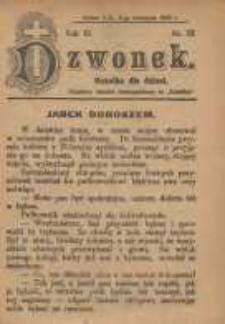 Dzwonek, 1905, R. 12, nr 22