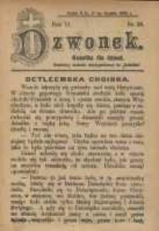 Dzwonek, 1905, R. 12, nr 26