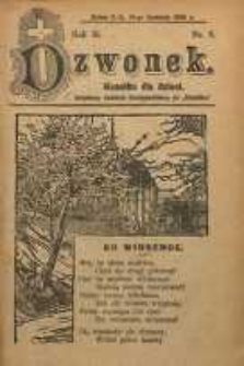 Dzwonek, 1906, R. 13, nr 8