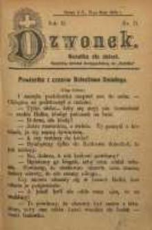 Dzwonek, 1906, R. 13, nr 11