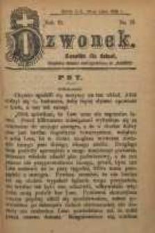 Dzwonek, 1906, R. 13, nr 15
