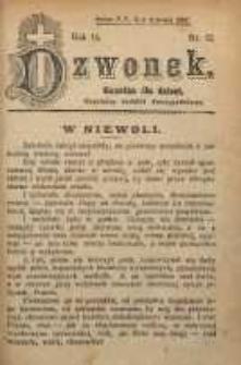 Dzwonek, 1907, R. 14, nr 12