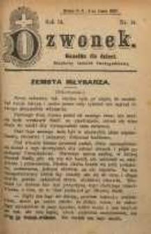 Dzwonek, 1907, R. 14, nr 14