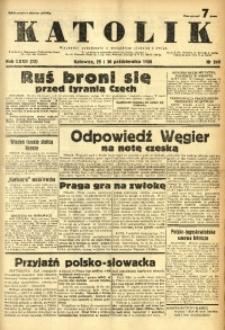 Katolik, 1938, R. 72, nr 249
