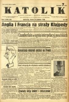 Katolik, 1938, R. 72, nr 285