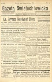 Gazeta Świętochłowicka, 1935, R. 2, nr 40