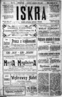 Iskra. Dziennik polityczny, społeczny i literacki, 1920, R. 11, nr 1