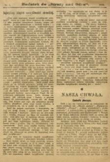 """Dodatek do """"Straży nad Odrą"""", 1910, nr 5"""