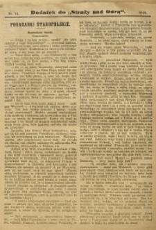 """Dodatek do """"Straży nad Odrą"""", 1910, nr 11"""