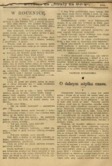 """Dodatek do """"Straży nad Odrą"""", 1910, nr 40"""