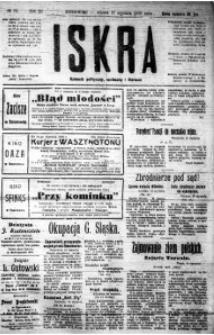 Iskra. Dziennik polityczny, społeczny i literacki, 1920, R. 11, nr 24