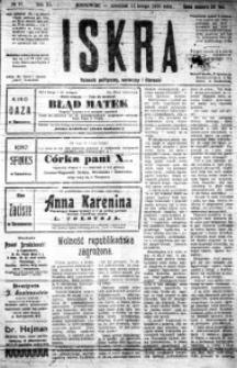 Iskra. Dziennik polityczny, społeczny i literacki, 1920, R. 11, nr 37