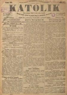 Katolik, 1906, R. 39, nr 1
