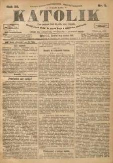 Katolik, 1906, R. 39, nr 5