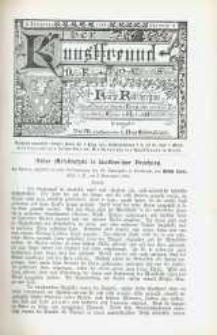Der Kunstfreund. Neue Folge, Kurze Rundschau. Jg. 2, nr 2.
