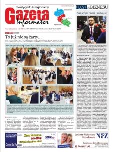 Gazeta Informator : dwutygodnik regionalny. R. 14, nr 22 (301).