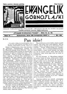 Ewangelik Górnośląski, 1937, R. 6, nr 48