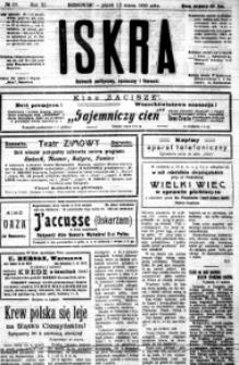 Iskra. Dziennik polityczny, społeczny i literacki, 1920, R. 11, nr 63