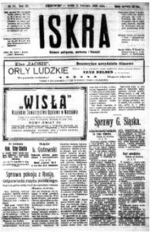 Iskra. Dziennik polityczny, społeczny i literacki, 1920, R. 11, nr 93